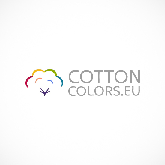 Лого Дизайн на Cotton Colors EU - вариант 1