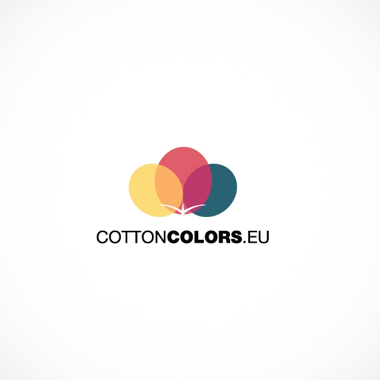 Лого Дизайн на Cotton Colors EU - вариант 3