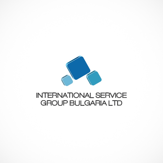 Лого Дизайн за International Service Group Bulgaria - вариант 3