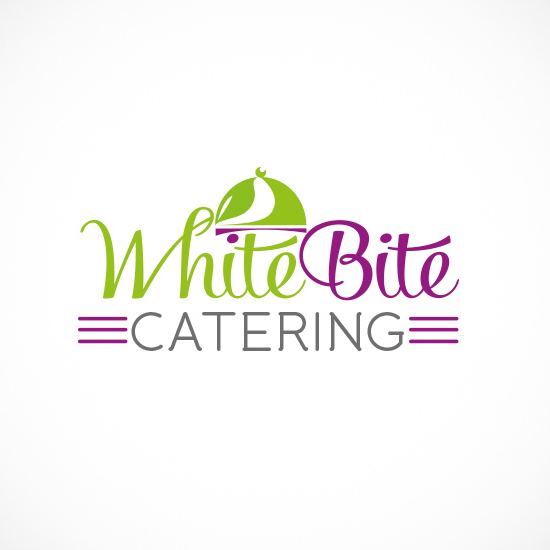 Лого Дизайн за WhiteBite Catering - вариант 1