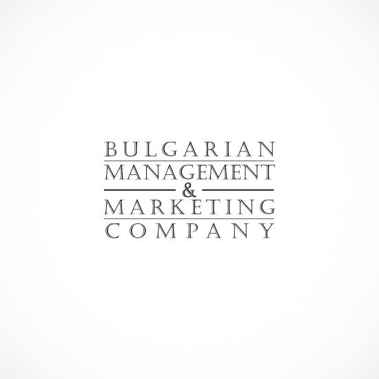 Лого Дизайн на Bulgarian Management and Marketing Company - вариант 3
