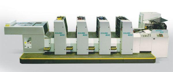 Офсетова машина за листов печат MAN Roland 304