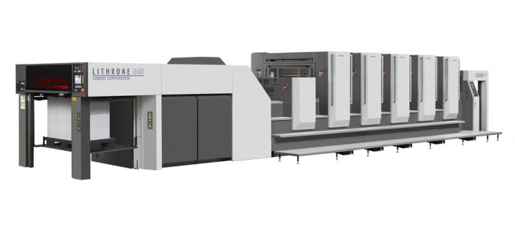 Чисто нова машина за листов печат KOMORI GL 540 LITRONE G 40
