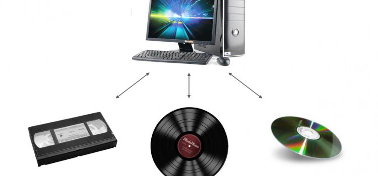 Прехвърляне на аудио и видео съдържание от всичко на всичко