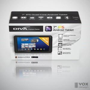 diva tablet package design