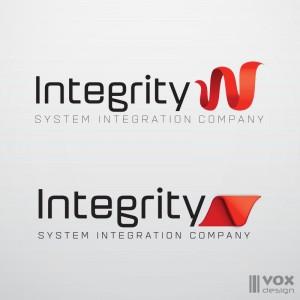 integrity logo design varianti