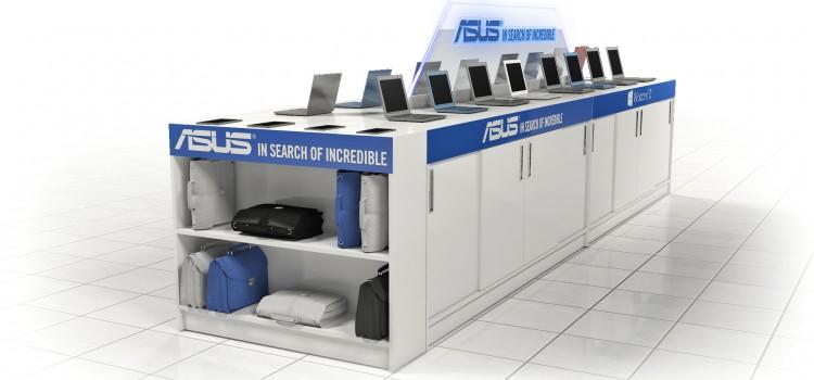 ASUS щанд в Техномаркет - Render 2