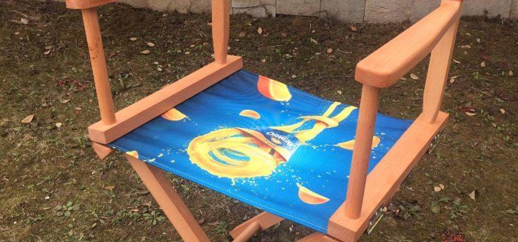 Директорски столове с текстилен печат