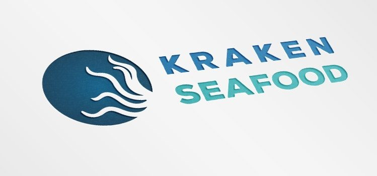 """Дизайн на лого """"Kraken Seafood"""""""