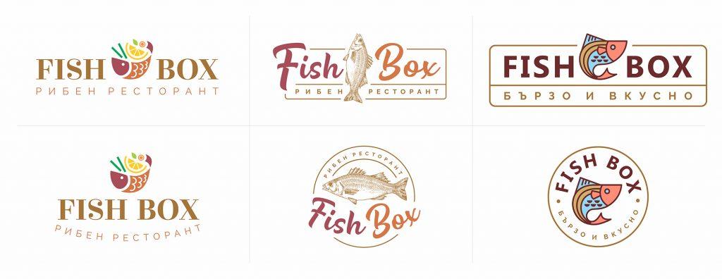 Лого Дизайн - FISH BOX